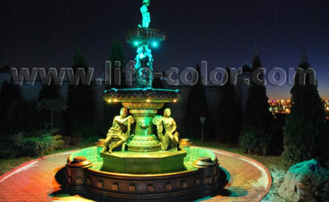 фонтан бирюзовый