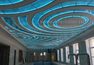 стеклянный потолок с гравировкой