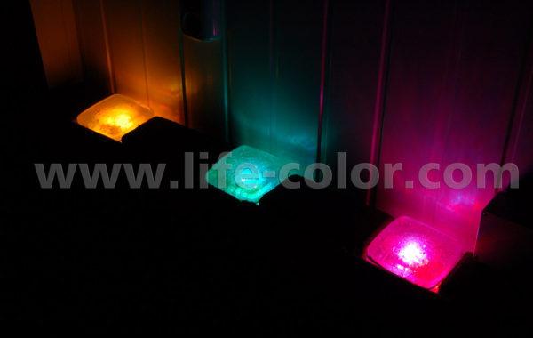 Хрустальная плитка с подсветкой